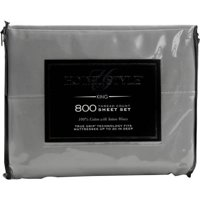 Hotel Style Infinity Cotton 800 Thread Count Pillowcases, 2 Count