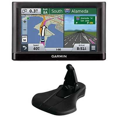 nuvi 55LM Essential Series GPS System w/ Lifetime Maps and Garmin Friction Mount Bundle includes: nuvi 55LM Essential Series GPS