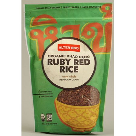 - Alter Eco Organic Khao Deng Ruby Red Rice 16 oz