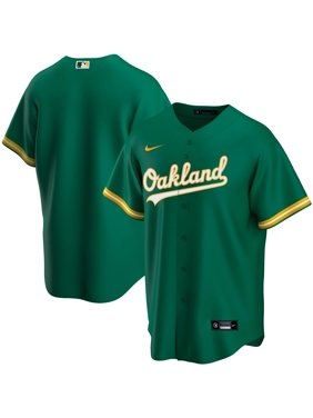 Oakland Athletics Nike Youth Alternate 2020 Replica Team Jersey - Kelly Green