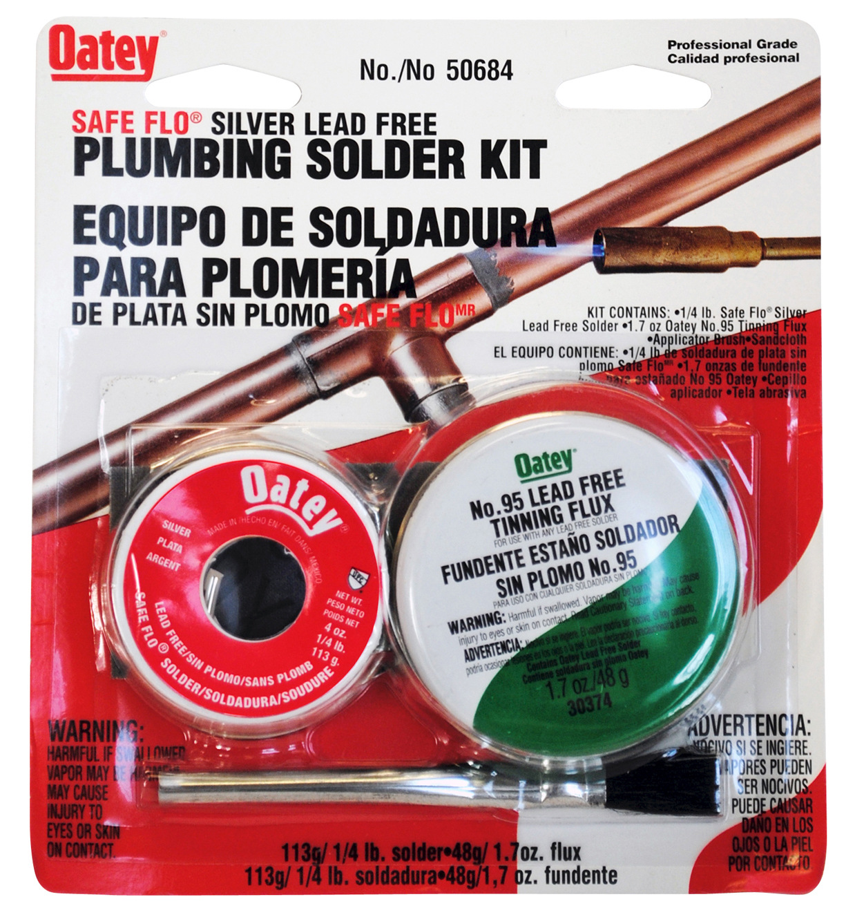 SOLDER KIT SAFE FLO