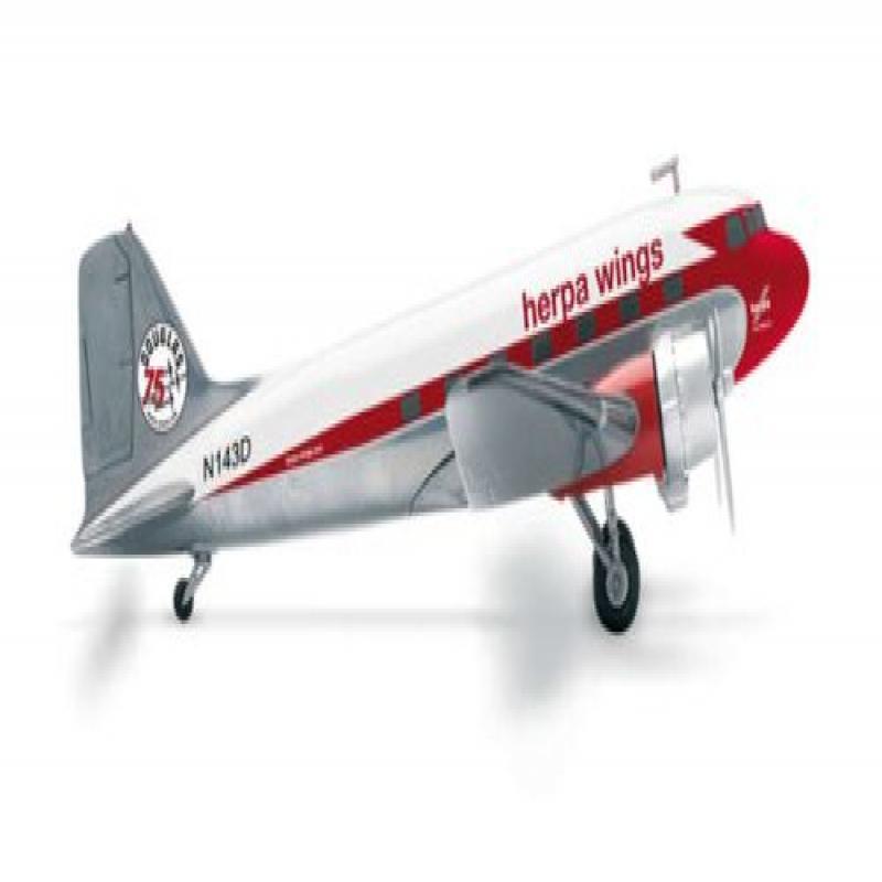 HE553803 Herpa Wings Herpa DC-3 Model Airplane by