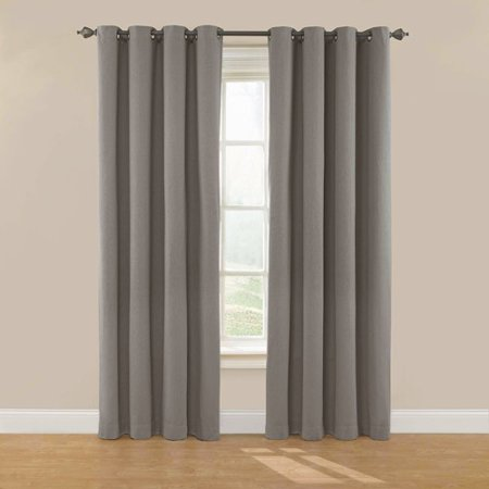Eclipse Nadya Solid Room Darkening Window Curtain Panel