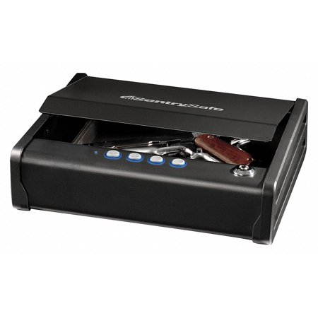 SentrySafe QAP1E Gun Safe with Digital Keypad, 0.08 cu ft