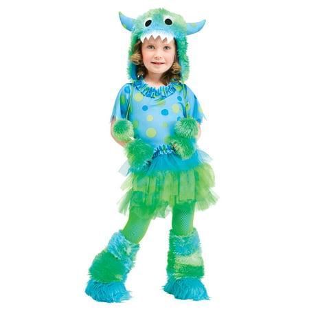 Miss Monster Green Monsters University Toddler Girls - Monster Costume Toddler