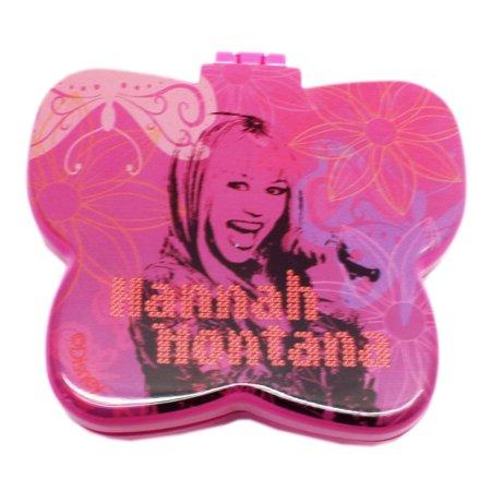 Disney's Hannah Montana Butterfly Shaped Mini Hairbrush/Mirror Combo - Shaped Mirrors