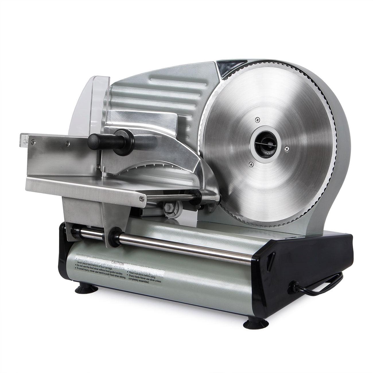 """Della� 8.7"""" inch 180W Electric Meat Slicer Blade Deli Cutter Veggies Home Kitchen Equipment CSA, ETL by Della"""