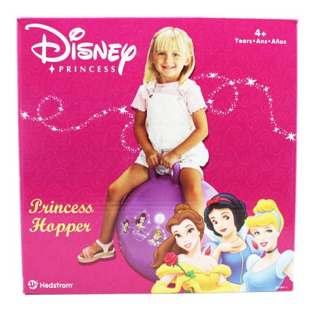 Disney Princess Snow White, Belle, and Cinderella Kids Inflatable Hopper - Belle And Snow White