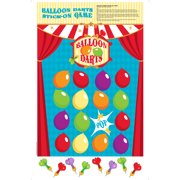 Balloon Darts Stick-On Game