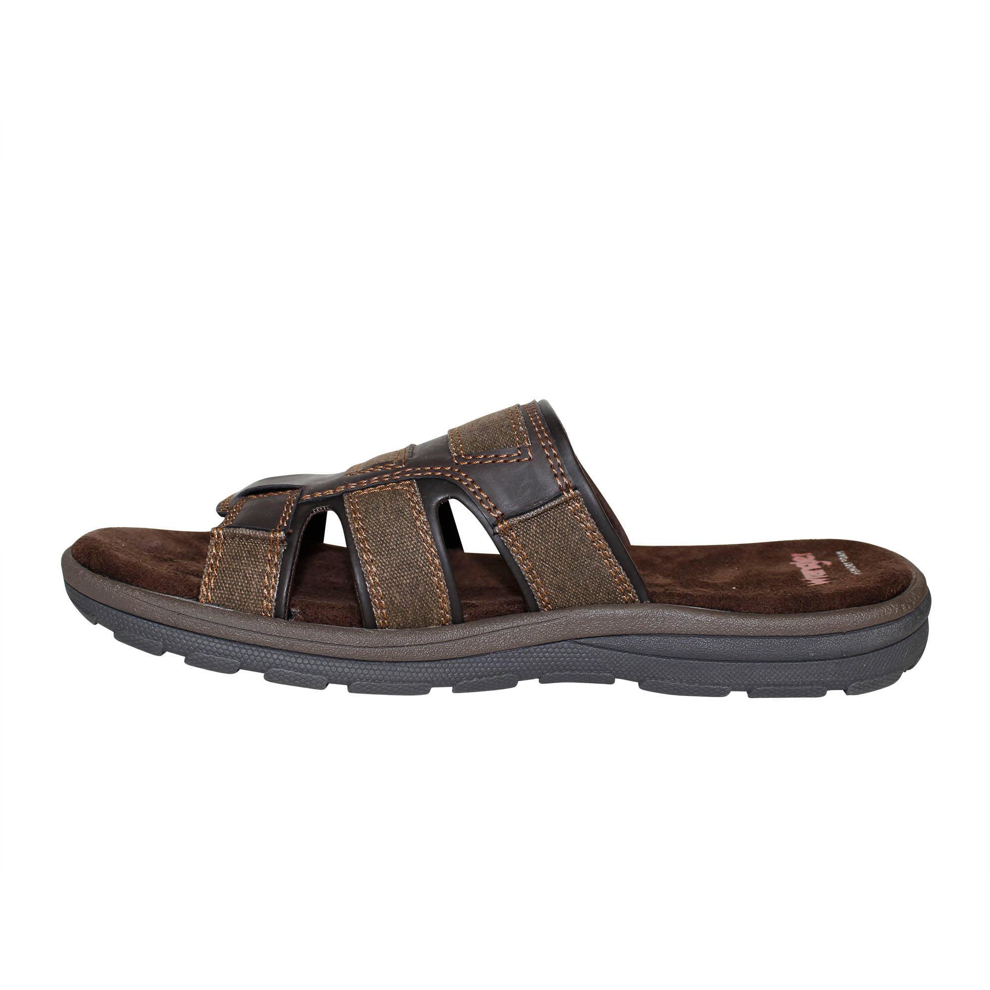 how to wear slip sandals for men