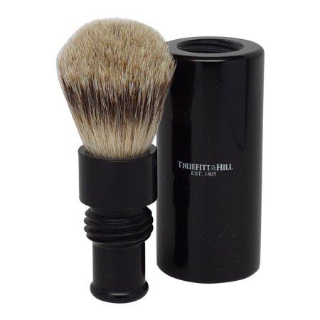 Truefitt & Hill Ebony Turnback Traveler Badger Hair Brush - image 2 de 3