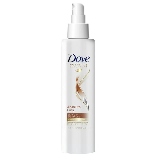 Dove Nutritive Solutions Absolute Curls Detangler, 6.1 oz