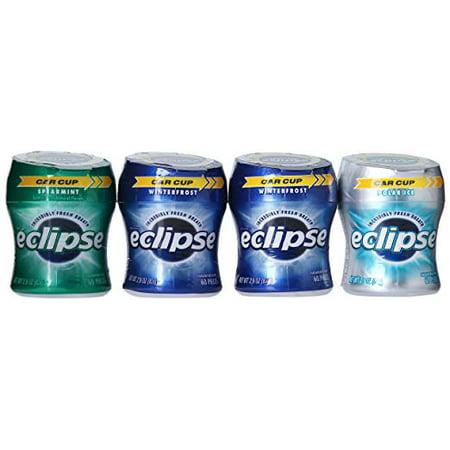 Eclipse Bottle Variety Pack Gum, 4 Ct
