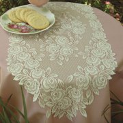 Heritage Lace Tea Rose Runner