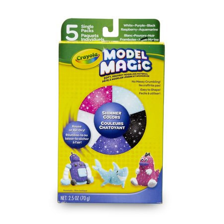 Crayola Model Magic Variety Pack, Shimmer Model Magic Craft Pack