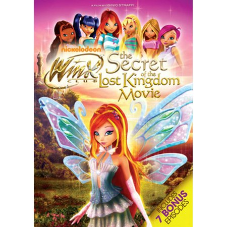 WINX CLUB-SECRET OF THE LOST KINGDOM MOVIE (DVD/2DISCS)