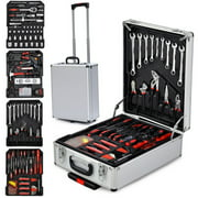 Zimtown 799 PCS Tool Kit with Tools and Wheels, Hand Tool Set for Househould