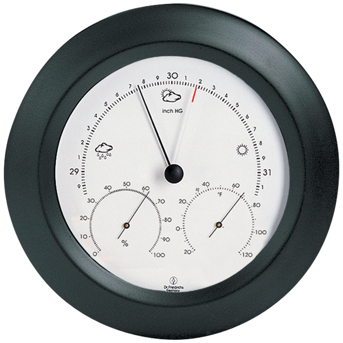 Weather Station 8 inch Black