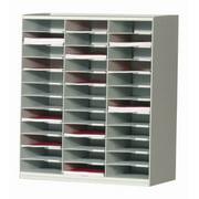 Master Literature Organizers w 36 Compartments (Gray)