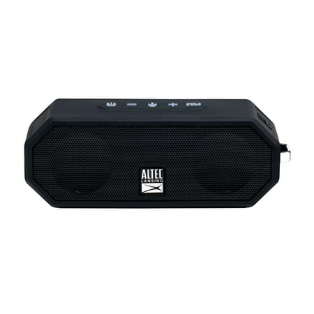 Altec Lansing Jacket H20 4 Portable Bluetooth Speaker, Black