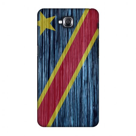 LG G Pro Lite Case, Premium Handcrafted Printed Designer Hard Snap on Shell  Case Back Cover for LG G Pro Lite D686 - DR Congo flag- Textures