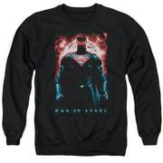 Man Of Steel Red Son Of Krpton Mens Crewneck Sweatshirt