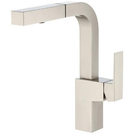 2008 Single Hole Bar Faucet (Danze D404562SS Mid-Town Single Hole Kitchen Faucet (Stainless)