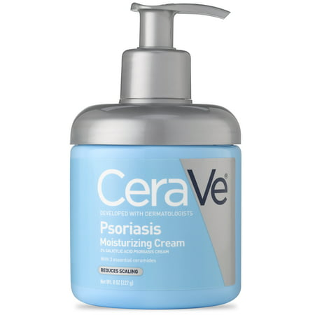 CeraVe Psoriasis Moisturizing Cream with Salicylic Acid 8 oz.