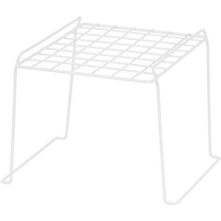 IRIS 8 Inch High Wire Locker Shelf, White Set of 4
