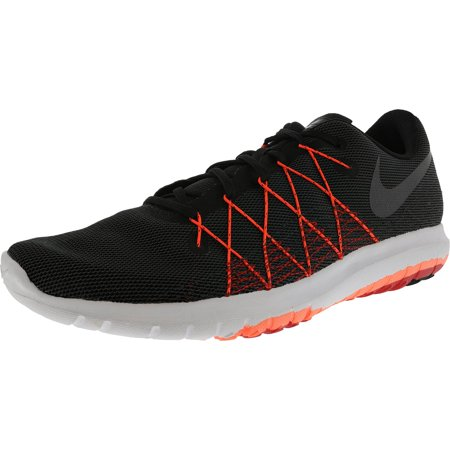 sports shoes 3ff44 306a3 Nike Men s Flex Fury 2 Black Metallic Helmet University Red Total Crimson  Ankle ...