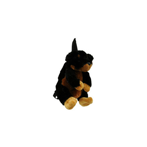 CALPLUSH 954814 14 BLACK DOG BACKPACK - Walmart.com