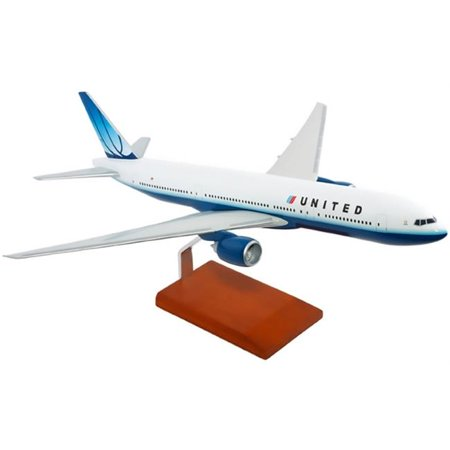 Mastercraft Models Mcb777unpu United Airlines B777 200   Model Scale 1 By 100