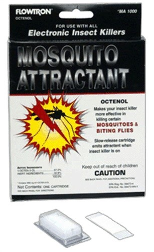 Click here to buy Octenol,Mosquito Attractant by ARMATRON/FLOWTRON OUTDOOR PROD.