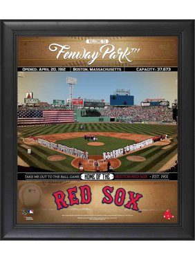 """Boston Red Sox Framed 15"""" x 17"""" Welcome to the Ballpark Collage"""