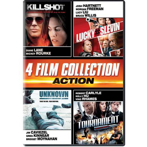 4 Film Collection: Action - Killshot / Lucky Number Slevin / Unknown / The Tournament (Widescreen)