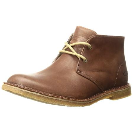986dafaae56 UGG 1011697-BRTN: Leighton BRITISH TAN Casual Leather Boots for Men (9.5  D(M) US)