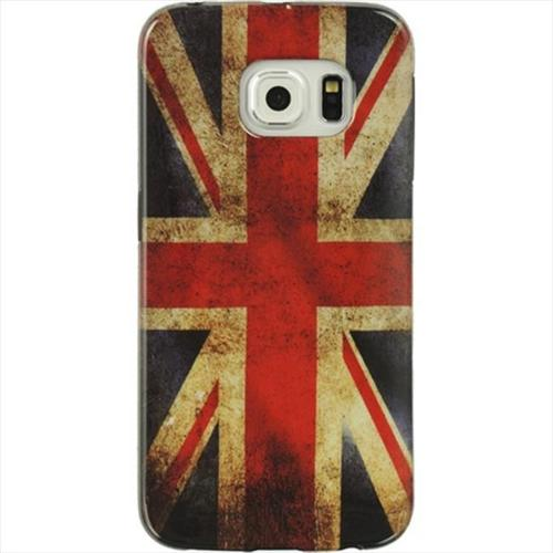 Samsung Galaxy S6 Edge Black TPU Imd Flag British