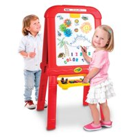Crayola Creative Fun Double Easel: Includes Magnets, Chalk & Gears