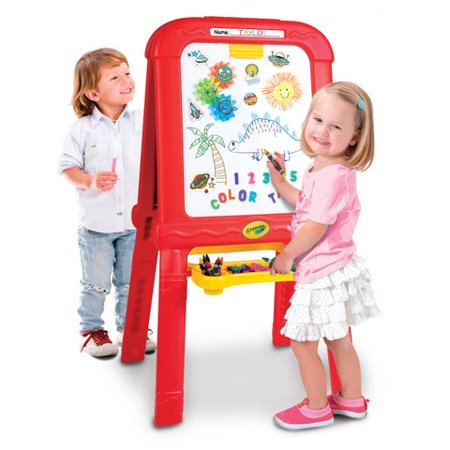 Crayola Creative Fun Double Easel: Includes Magnets, Chalk & -