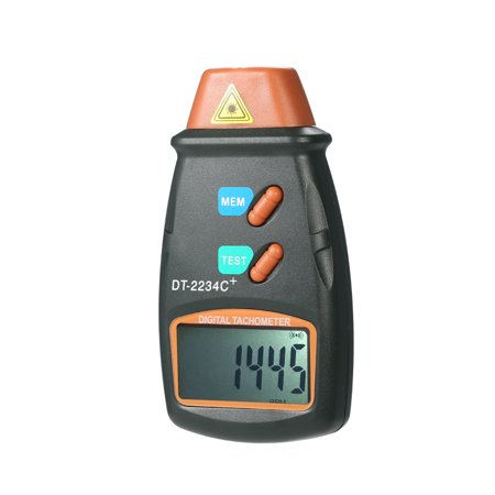 Speed Tach (Handheld Digital Photo Tachometer Laser Non-Contact Tach Range 2.5RPM-99,999RPM LCD Display Motor Speed Meter with 3pcs Reflective)