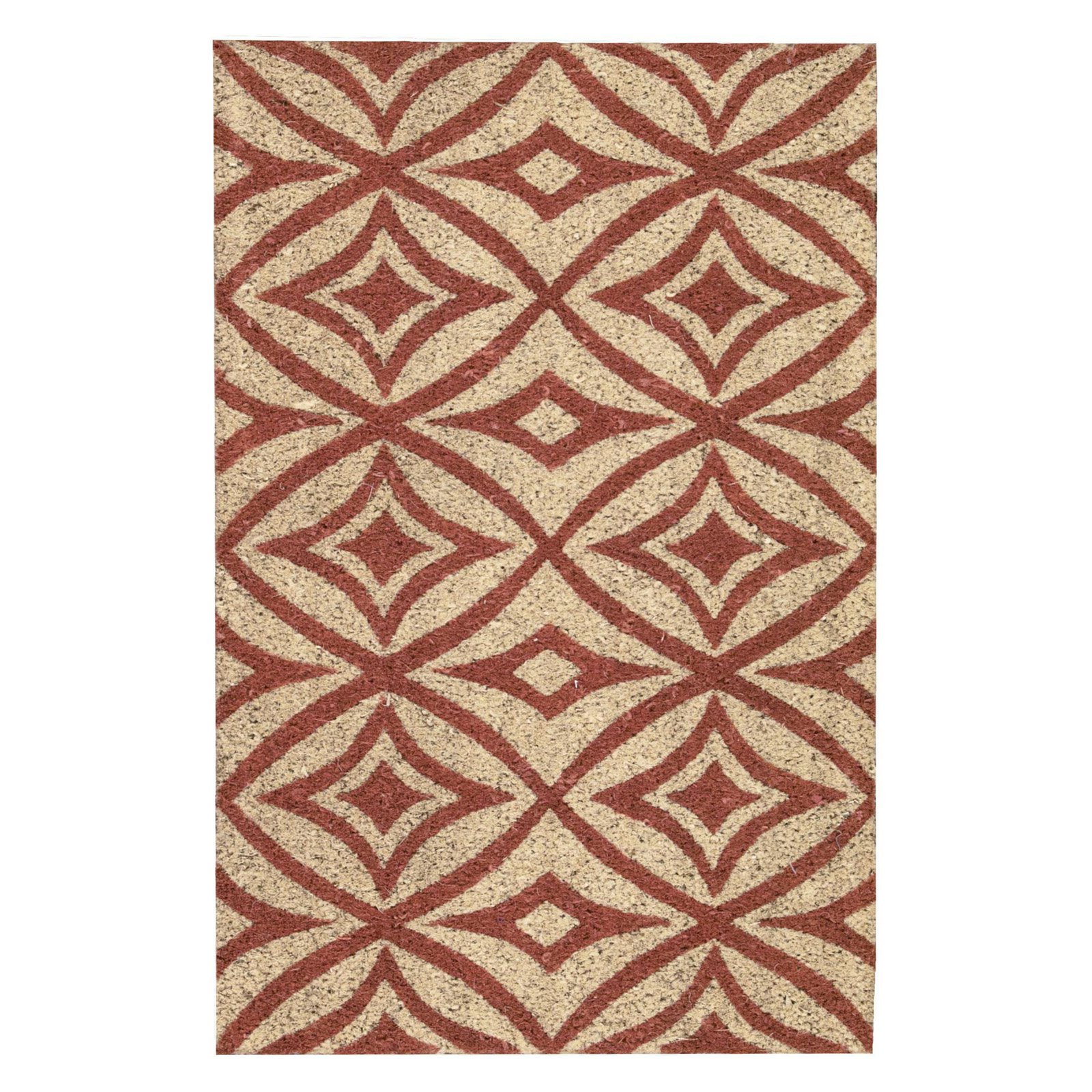 "Waverly Greetings ""Centro"" Henna Doormat by Nourison"