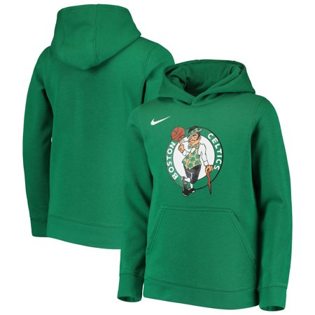 Boston Celtics Nike Youth Essential Logo Hoodie - Kelly (Nike Stores)