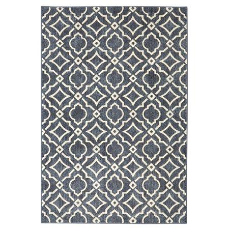 Mohawk Porcelain Tile - Mohawk Home Palladium Carved Tiles Indoor Area Rug