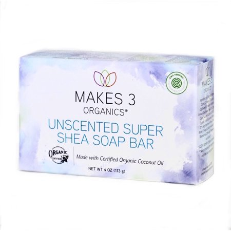 Image result for 3 organics bar soap
