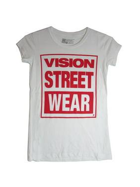 1826cb6424e Product Image Womens Logo Shortsleeve T-Shirt. Vision Street Wear
