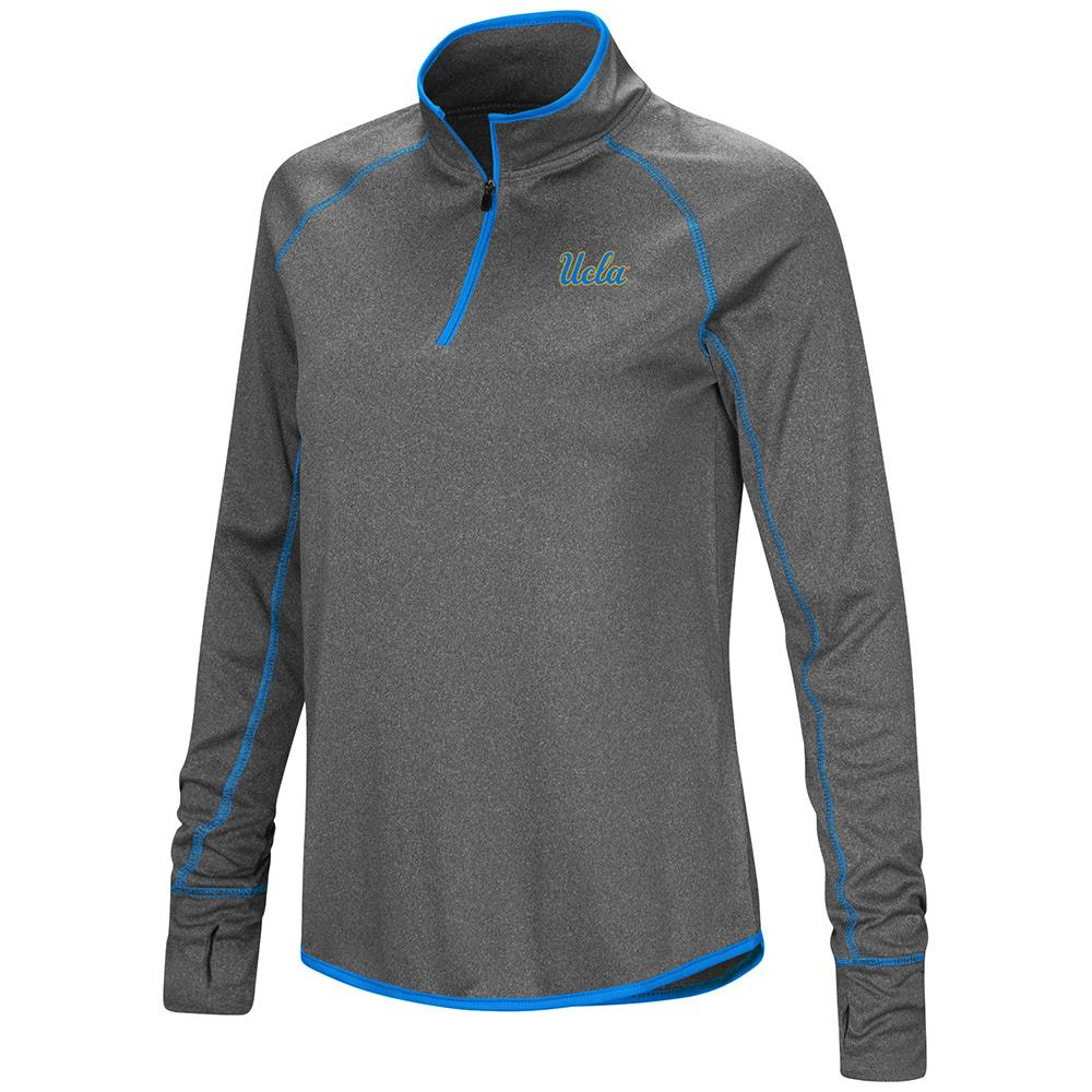 Womens UCLA Bruins Quarter Zip Wind Shirt - S - Walmart.com 707be333ac