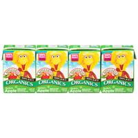 (12 boxes) Apple & Eve 100% Organic Juice Drink, Big Bird's Apple, 4.23 Fl Oz