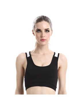 fea646a85b Product Image Women Shock Absorbent Push-Up Piercing Sports Bra Vest  Camisole for Sports Yoga Running Fitness. cottcuboaba