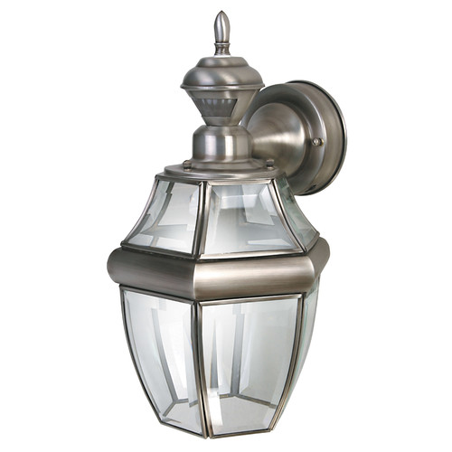 Heath-Zenith Motion Activated 1-Light Outdoor Wall Lantern