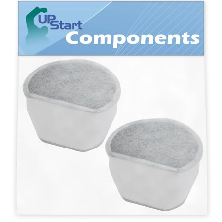 Image of 2-Pack Pet Water Fountain Carbon Filter Replacement for Petsafe Drinkwell Avalon Pet Fountain - Compatible with PetSafe Drinkwell Filters #6 PAC00-13906 - UpStart Components Brand